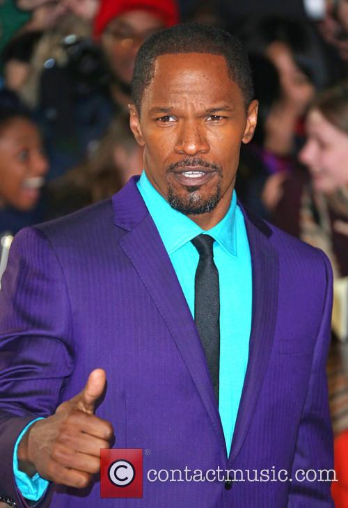 Jamie Foxx and Empire Leicester Square 6