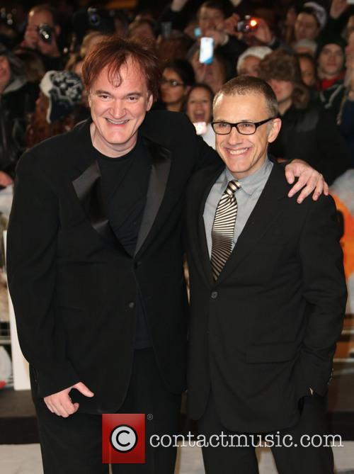 Quentin Tarantino, Christoph Waltz and Empire Leicester Square 7