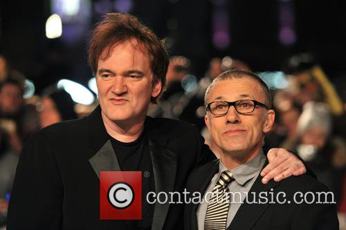 Director Quentin Tarantino, Christoph Waltz and Empire Leicester Square