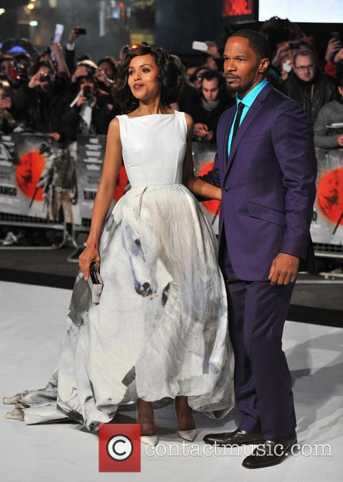 Jamie Foxx, Kerry Washington and Empire Leicester Square 10