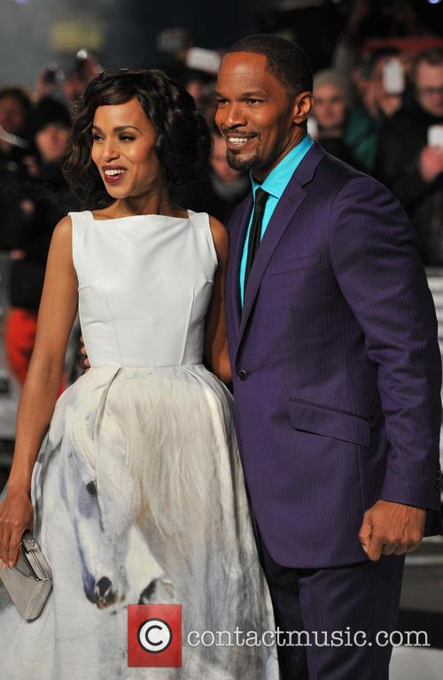 Jamie Foxx, Kerry Washington and Empire Leicester Square 5