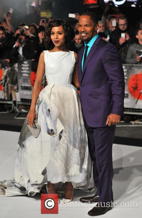 Jamie Foxx, Kerry Washington and Empire Leicester Square 4