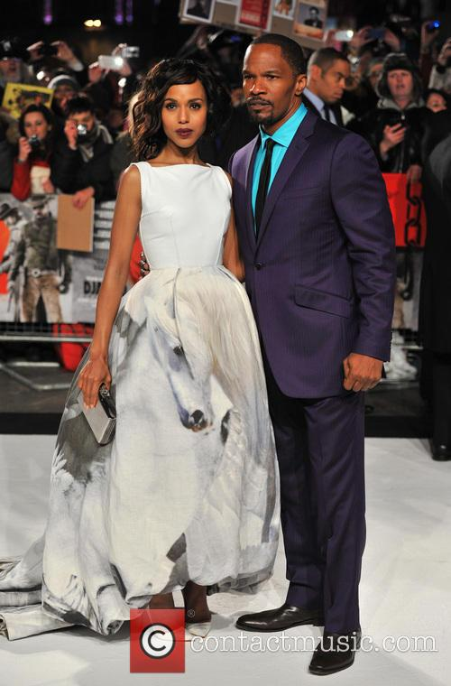 Jamie Foxx, Kerry Washington and Empire Leicester Square 11