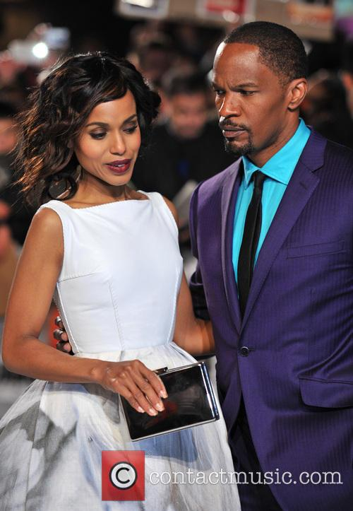 Jamie Foxx, Kerry Washington and Empire Leicester Square 1