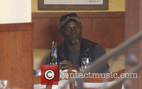 Djimon Hounsou and Kenzo Hounsou 11