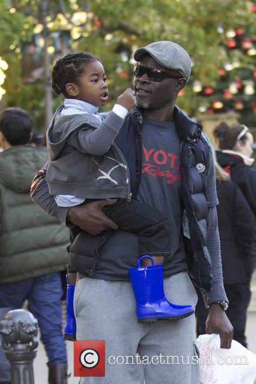 Djimon Hounsou and Kenzo Hounsou 4