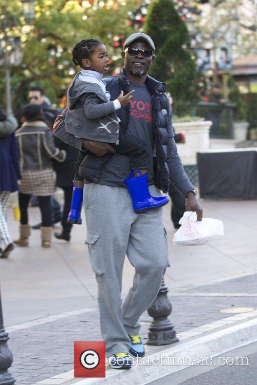 Djimon Hounsou and Kenzo Hounsou 3