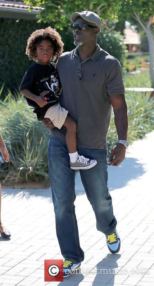 Kenzo Lee Hounsou and Djimon Hounsou Djimon Hounsou...