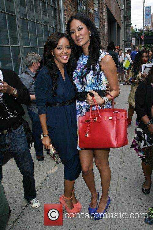 Angela Simmons and Kimora Lee Simmons 2