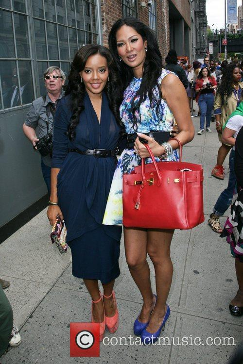 Angela Simmons and Kimora Lee Simmons 3