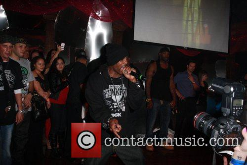 rapper dmx performing at an event sponsored 5775949