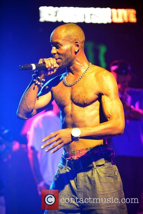 dmx performing live to promote his new 3981483