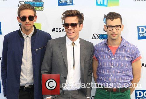 Andrew Dost, Nate Ruess and Jack Antonoff of...