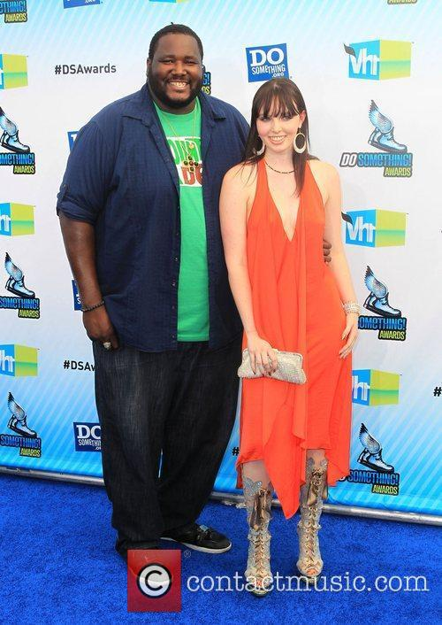 Quinton Aaron, Michaela  at the DoSomething.org and...
