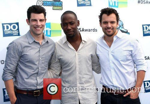 Max Greenfield, Lamorne Morris and Jake M. Johnson...