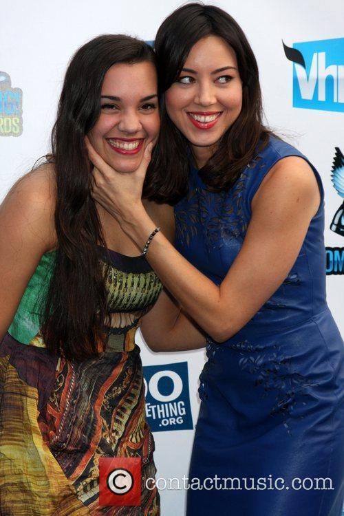 Aubrey Plaza and guest DoSomething.org and VH1's 2012...