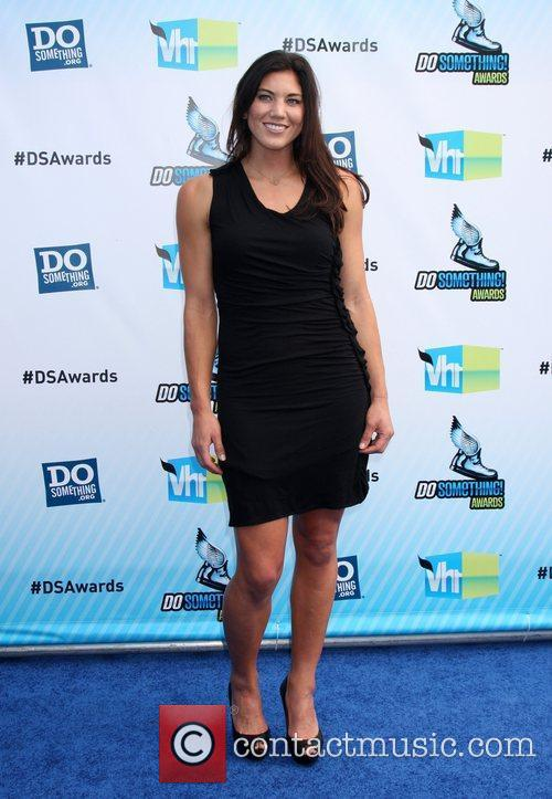 Hope Solo DoSomething.org and VH1's 2012 Do Something...