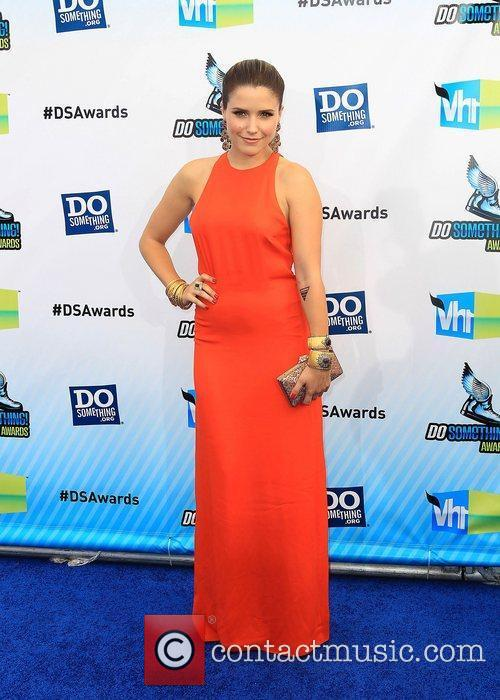 Sophia Bush ,  at the DoSomething.org and...