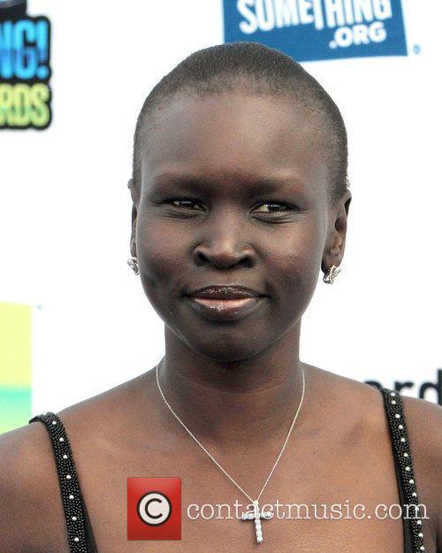 Alek Wek ,  at the DoSomething.org and...