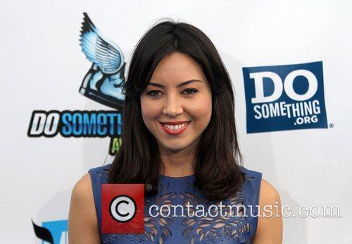 Aubrey Plaza,  at the DoSomething.org and VH1's...