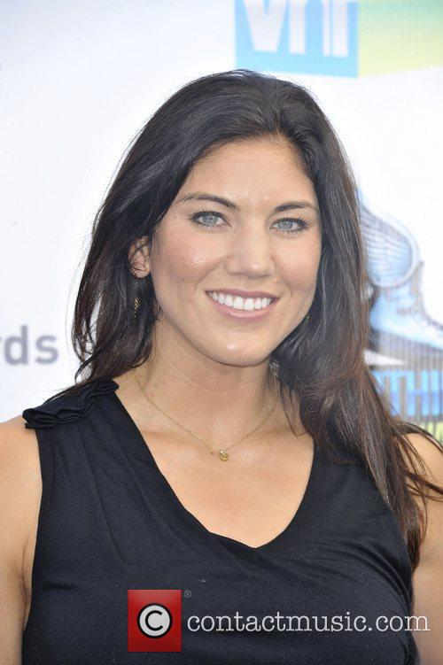Hope Solo,  at the DoSomething.org and VH1's...