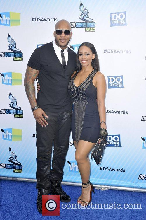 Flo Rida, Melyssa Ford,  at the DoSomething.org...