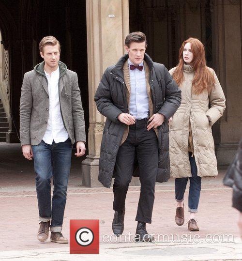 Matt Smith, Doctor Who, Karen Gillan and Central Park 2