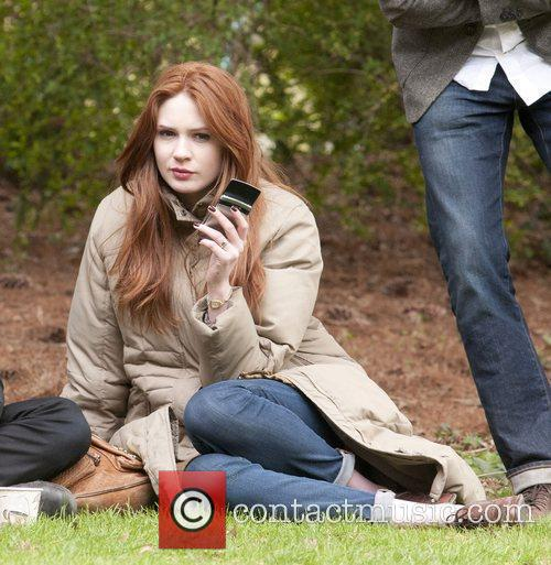 Karen Gillan, Doctor Who and Central Park 2