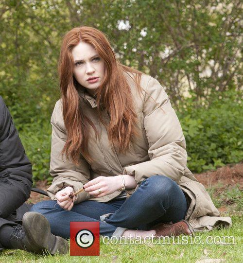 Karen Gillan, Doctor Who and Central Park 3