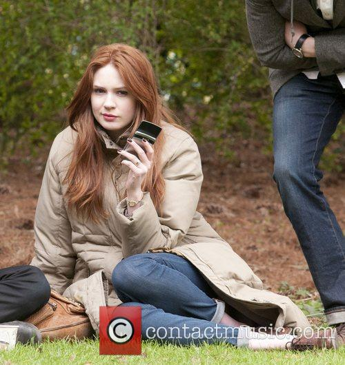 Karen Gillan, Doctor Who and Central Park 5