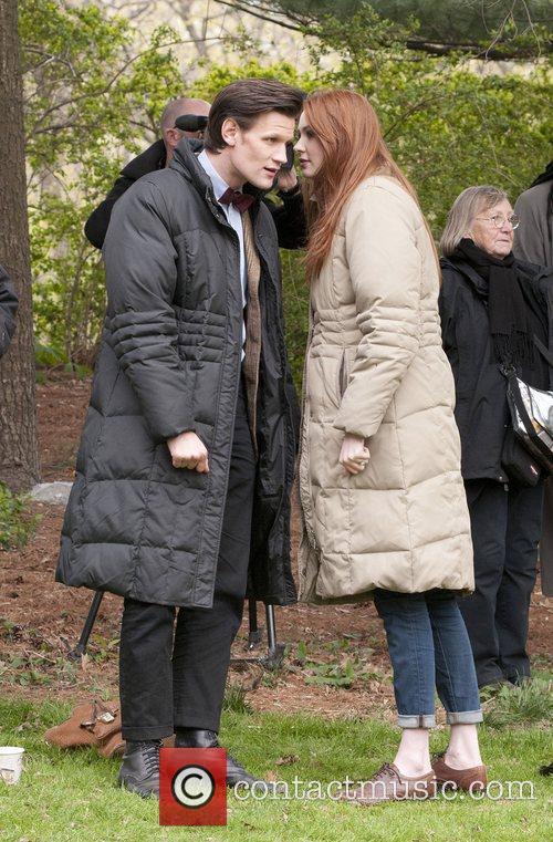 Matt Smith, Doctor Who, Karen Gillan and Central Park 6