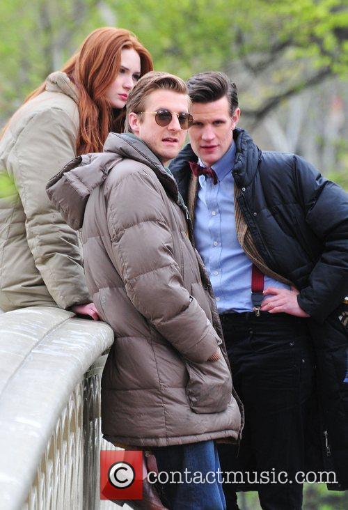 Matt Smith, Doctor Who, Karen Gillan and Central Park 3