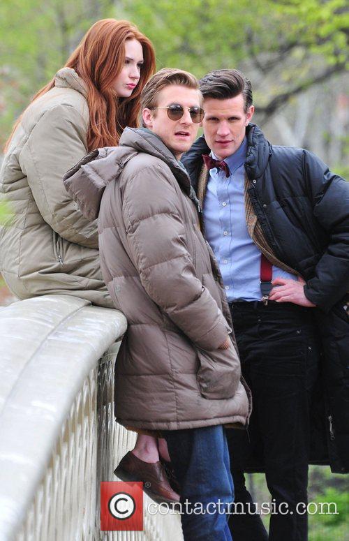Matt Smith, Doctor Who, Karen Gillan and Central Park 4