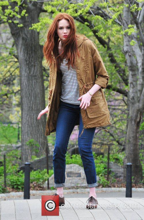 Karen Gillan, Doctor Who and Central Park 1