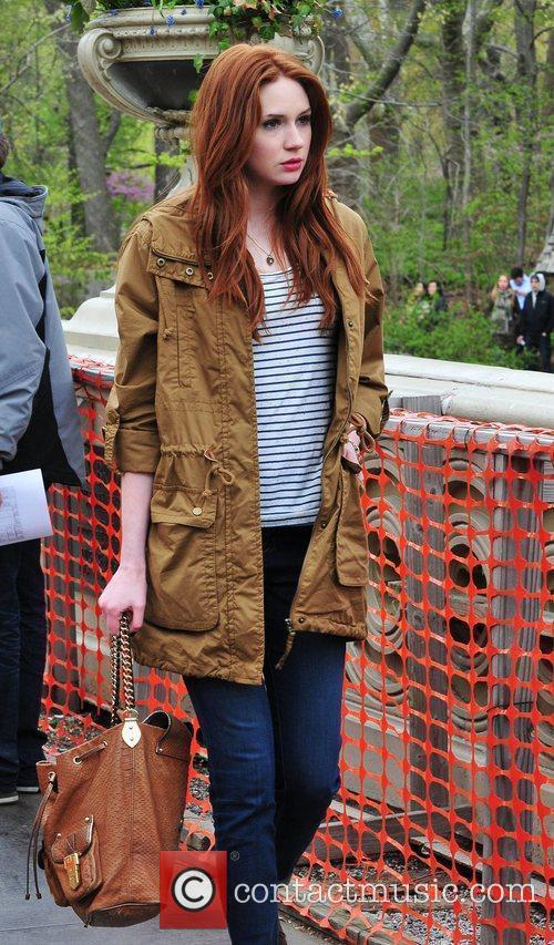 Karen Gillan, Doctor Who and Central Park 8