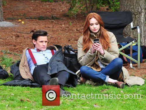 Matt Smith, Doctor Who, Karen Gillan and Central Park 7
