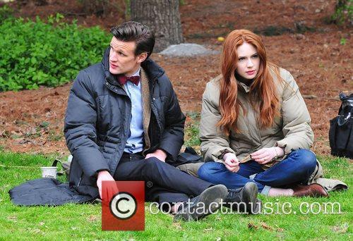 Matt Smith, Doctor Who, Karen Gillan and Central Park 9