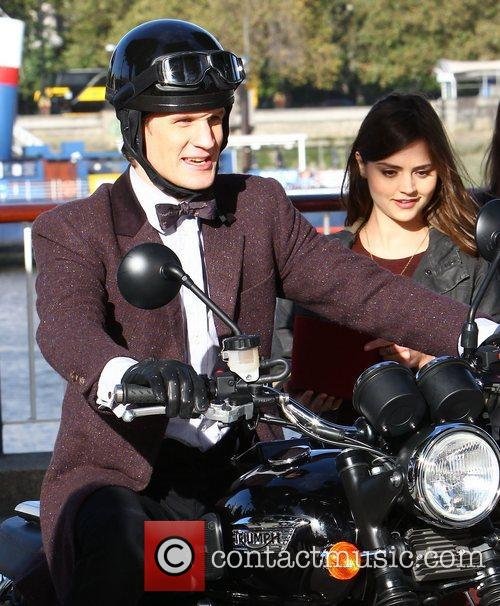 Matt Smith and Jenna-Louise Coleman The cast of...