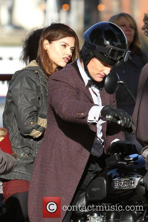 Jenna-Louise Coleman and Matt Smith The cast of...