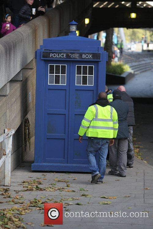 The Tardis, Doctor Who and London 4