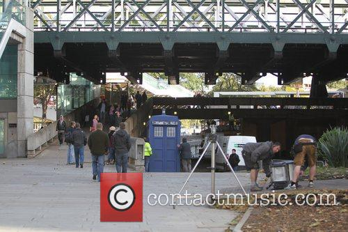 The Tardis, Doctor Who and London 1