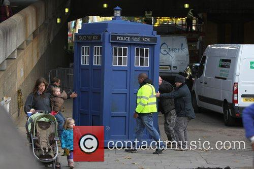 The Tardis, Doctor Who and London 2