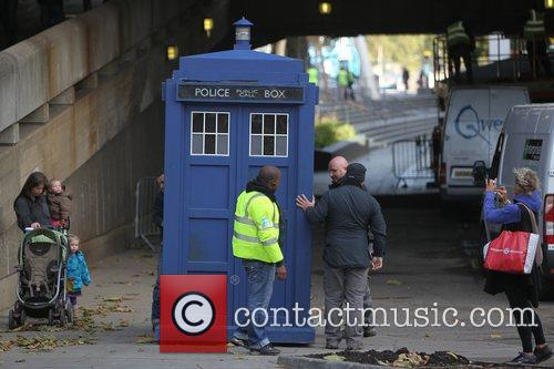 The Tardis, Doctor Who and London 3