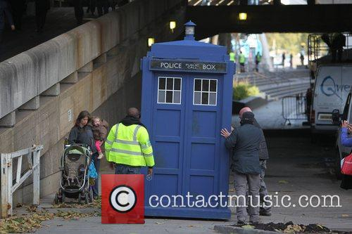 The Tardis, Doctor Who and London 6