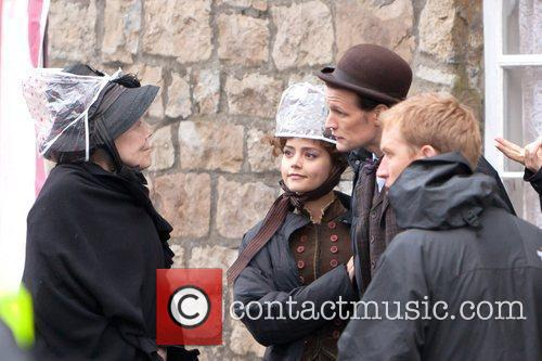 Diana Rigg, Jenna-louise Coleman and Matt Smith 3