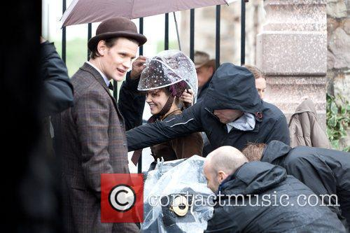 Matt Smith and Jenna-louise Coleman 2