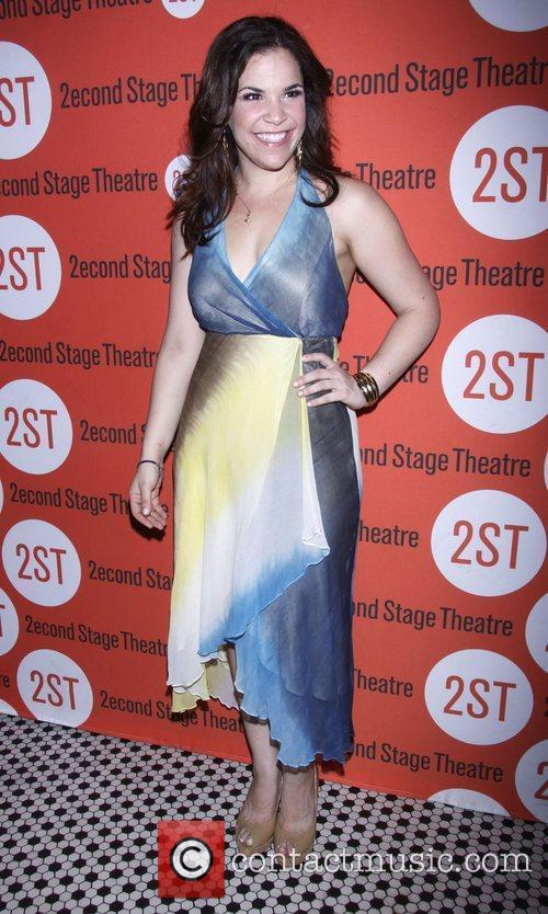 Lindsay Mendez After party celebrating the New York...