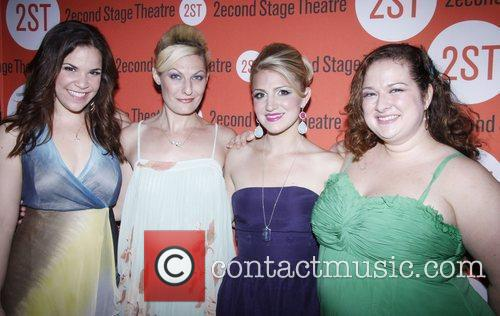 Lindsay Mendez, Becca Ayers, Annaleigh Ashford and Dierdre...