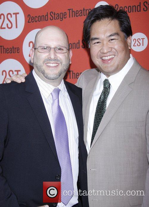 Mark Kaufman and Raymond Wu  After party...