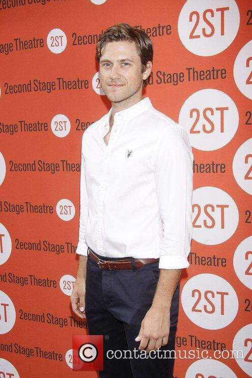 Aaron Tveit New York premiere of 'Dogfight' at...